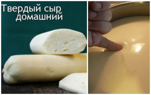 Сыр из кефира в домашних условиях рецепт с пошаговое