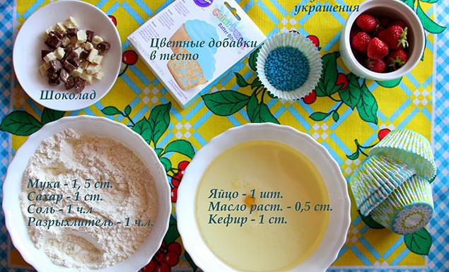 Рецепты вкусных капкейков фото