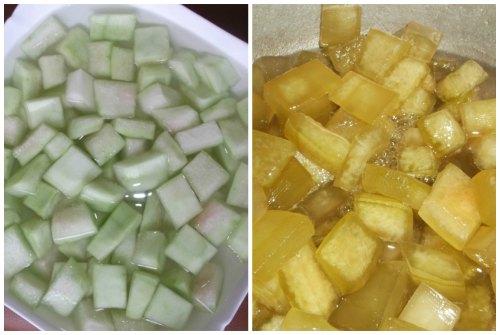 цукаты из арбуза в домашних условиях рецепт
