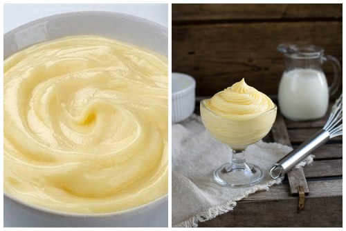 Как сделать крем без яйца 934