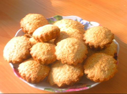 Творожный кекс с манкой рецепт с фото
