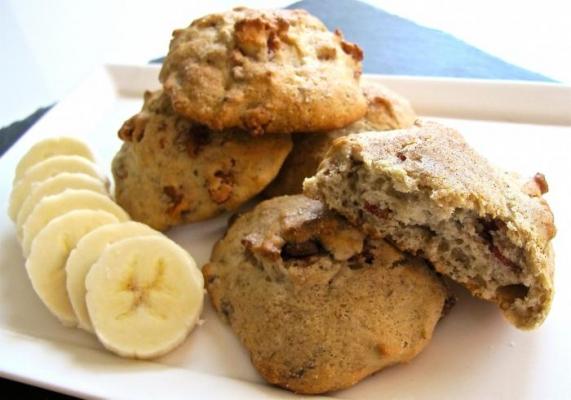 овсяное печенье с яблоком и бананом рецепт